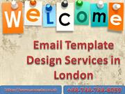 Email Template Design Services in London