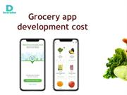 Grocery app development cost