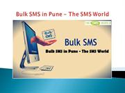 Bulk SMS in Pune - The SMS World