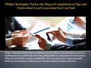 Philip Christopher Parker the Biggest Compilation of Tips and Tricks a
