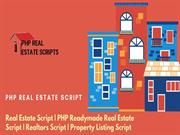 Real Estate Script - PHP Readymade Real Estate Script - Realtor Script