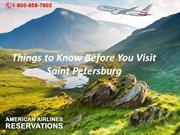 Things to Know Before You Visit Saint Petersburg