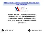 AVNA Chartered Certified Accountants in London, North