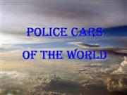 Police Cars Of The World