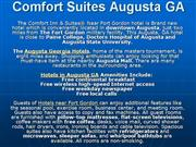Hotels in Augusta Georgia, Hotels near F