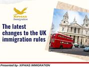 The latest changes to the UK immigration rules - XIPHIAS
