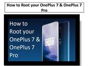How to Root your OnePlus 7 & OnePlus 7 Pro