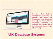 The renowned database developers in Glasgow