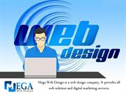 Professional Web Design Company In India - Mega Web Design Company