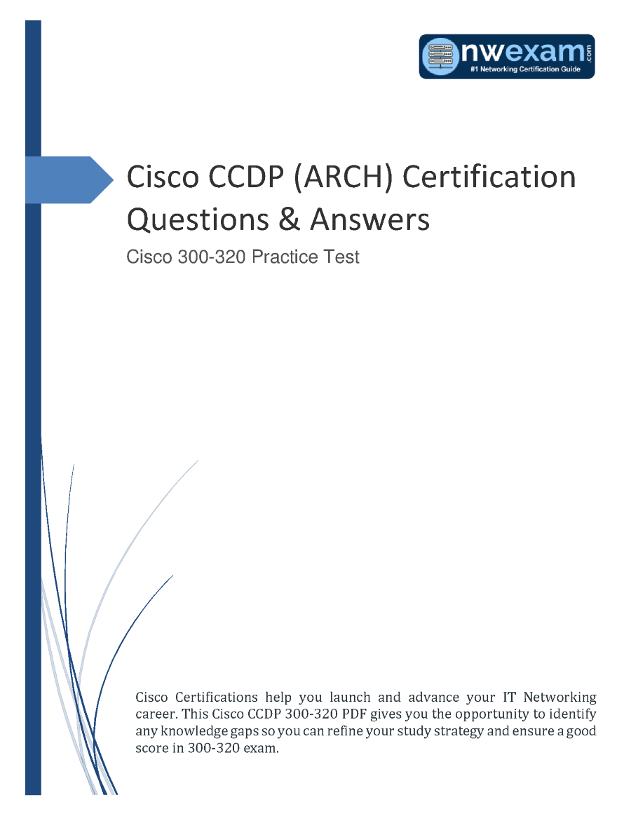 cisco ccdp certification arch answers questions