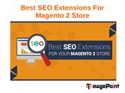 Best SEO Extensions for Magento 2 Store