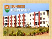 ENGINEERING COURSE OFFERED BY SUNRISE UNIVERSITY