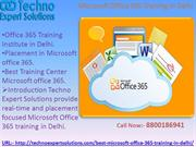 Placement in Microsoft office 365