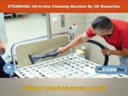 Steam Vac: All-in-One Steam Cleaning Machine