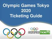 Cheap Olympics 2020 Tickets | Cheap Olympics Tokyo Tickets