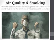 Air quality & smoking | Air Quality Testing Oakville
