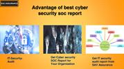 Advantage of best cyber security soc report