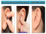Different Types of Spy Bluetooth Earpiece in India