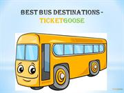 Best Bus Destinations - TicketGoose