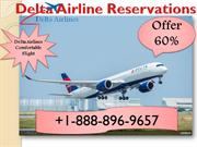 Delta Airlines Reservations  Official Site  Phone Number- +1-888-896-9
