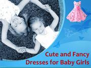 Cute and Fancy Dresses for Baby Girls