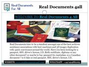 Buy Identity card, buy quality real id cards, Buy fake passport online