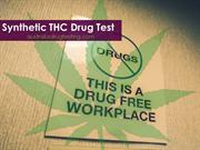 Synthetic THC Drug Test