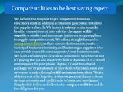 compare utilities to be best saving expert!
