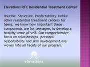 Elevations RTC Residential Treatment Center