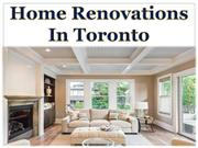 Home Renovations In Toronto