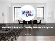 Domestic Cleaning Services in Brighton Presentation