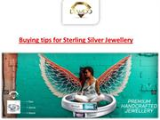 Buying tips for Sterling Silver Jewellery