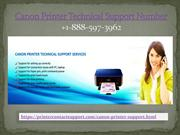 Canon Printer Technical Support Phone Number +1-888-597-3962