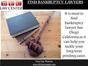 Find Bankruptcy Attorney