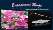 Make Surprise with a Unique Engagement Ring