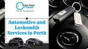 Highly Recommended Automotive Locksmith Perth