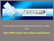 Open MRI Center Chevy Chase and Clinton