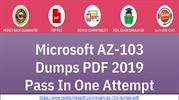 Golden Chance To Get Success With Microsoft AZ-103 Dumps Pdf