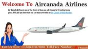 Air Canada Airlines Customer Service