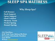 Why Sleep Spa Mattress Best and Comfort?
