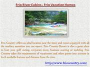 Reliable Vacation Rentals, Cabins & Lodging on The Frio River