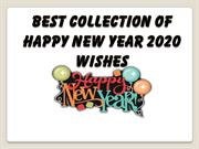 Best Collection of Happy New Year 2020 Wishes,Greetings, Quotes