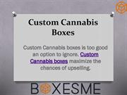 Custom Cannabis Boxes Wholesale