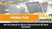 All You Need to Know About Point Of Sale Systems