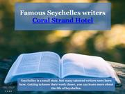 Famous Seychelles writers - Coral Strand Hotel