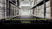 Need to Know about document shredding company - Tiger shredding