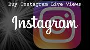Buy Instagram Live Views and Make Popular profile
