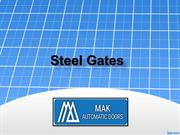 Steel Gates UAE, Commercial  Steel Gates UAE,  Residential Steel Gates