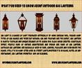 What You Need To Know About Outdoor Gas Lanterns