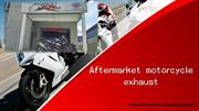 Aftermarket motorcycle exhaust